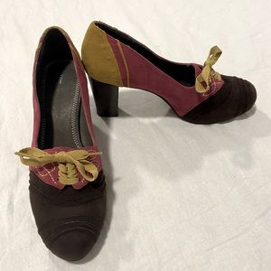 Pilcro and the Letterpress Nolana Oxford Heels 8.5